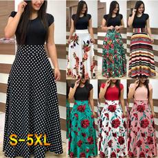 Shorts, high waist, Sleeve, long dress