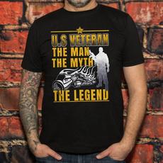 veterantshirt, Summer, Cotton, Fashion