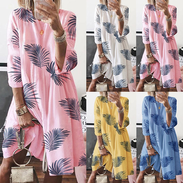 Summer, 34sleeve, Sleeve, plus size dress