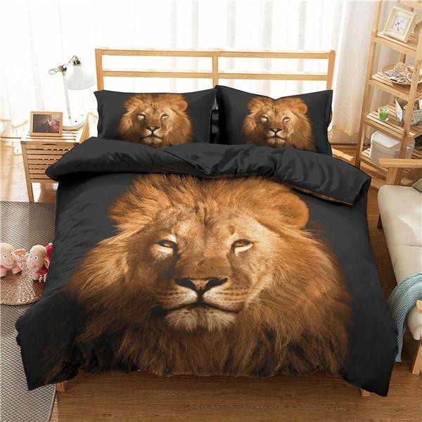 beddingkingsize, case, lionbeddingset, beddingsetsqueen