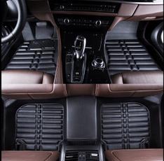 Mats, floor, leather, Autos