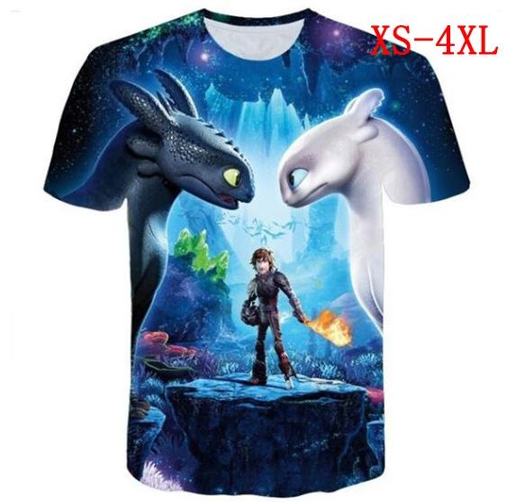 Mens T Shirt, howtotrainyourdragontshirt, Cotton Shirt, thehiddenworld