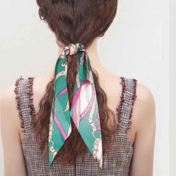 Fashion, chiffon, scrunchiehairaccessorie, hair