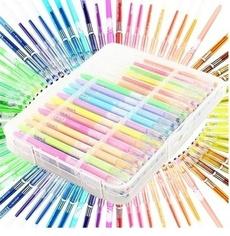 Pastels, colorpen, Glitter, Neon