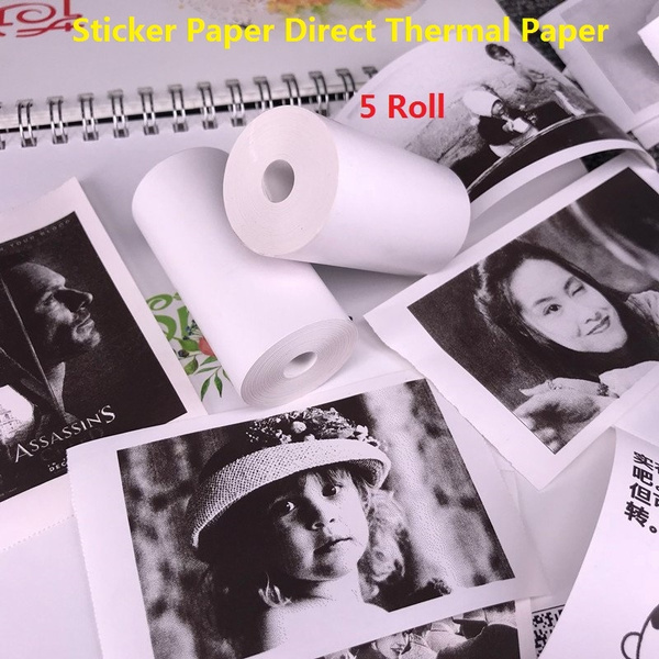 Paper, Thermal, forminipocketphotoprinter, forpaperangsticker