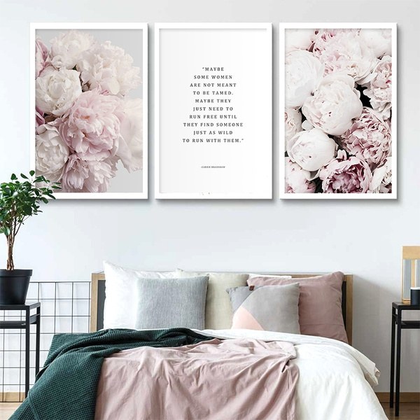 art print, pink, flowerposter, Flowers
