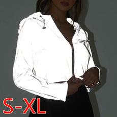 Fashion, Shorts, hooded, women crop top