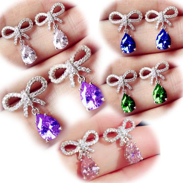 Engagement, Stud, Stud Earring, wedding earrings