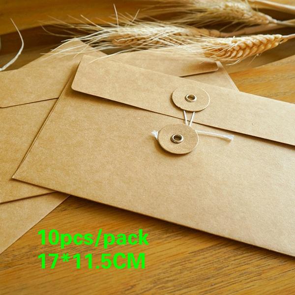 kraftpaperenvelope, kraft, postcardbox, Envelopes
