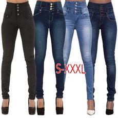 drawstringpant, skinny pants, Casual pants, Women jeans