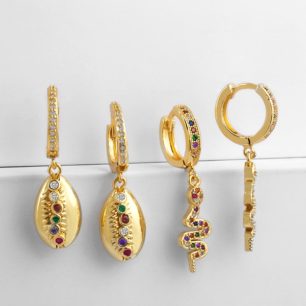 Women's Fashion, cowrieshellearring, Fashion, Jewelry