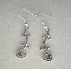 charmearring, Goth, Dangle Earring, Jewelry