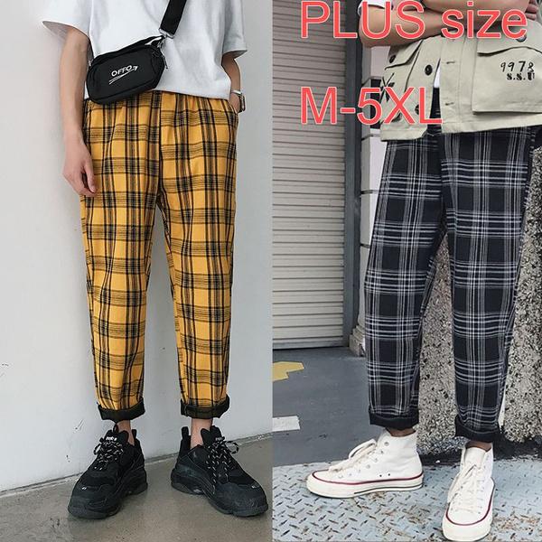 harem, Plus Size, Men's Fashion, Casual pants
