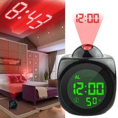 projectionalarmclock, thermometerclock, snoozeclock, Home & Living