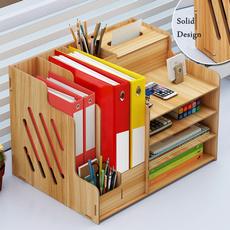 case, Wood, Book, desktopstorageorganizer