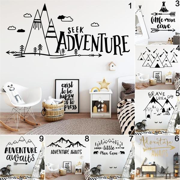 cute, Wall Art, Home Decor, Mountain