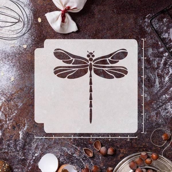 dragon fly, stencil, Craft Kits, furnitureampdecor