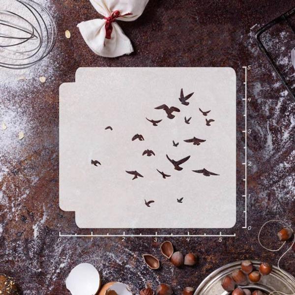 flockofbird, stencil, Craft Kits, Sprays