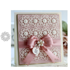 Craft, lacecuttingdie, Flowers, Lace