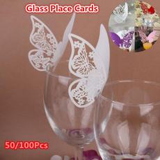 butterfly, Wedding Supplies, Glass, invitation