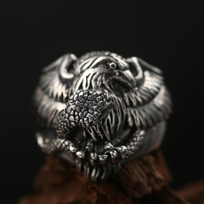 Steel, ringsformen, punkstylejewelry, animalring