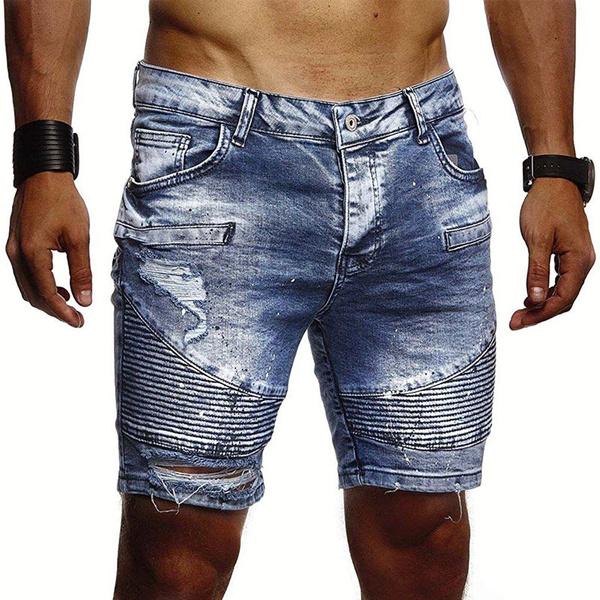 Summer, Shorts, men's jeans, Short pants