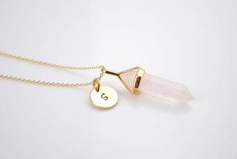 pink, delicatenecklace, bridesmaidsnecklace, bohojewelry