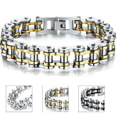 Steel, Fashion, Chain bracelet, punk