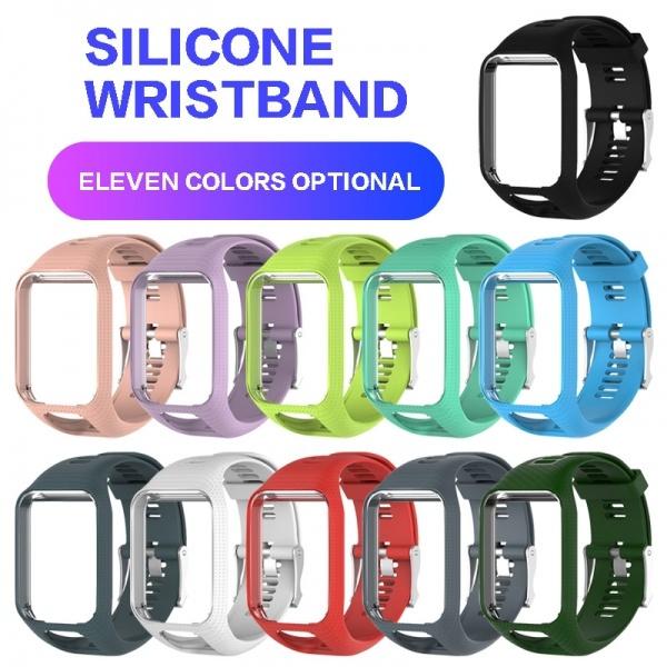 smartwatchstrap, watchstrapfortomtom, Silicone, siliconestrap