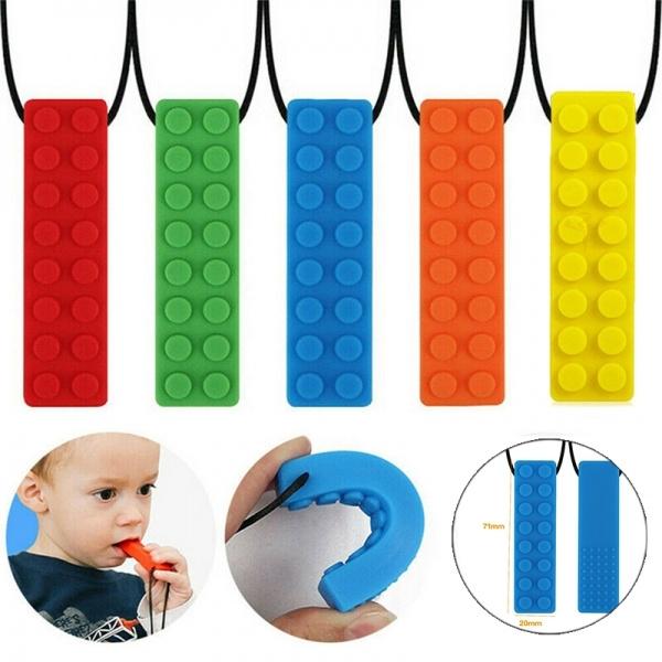 siliconenecklace, pencil, Toy, chewtoy