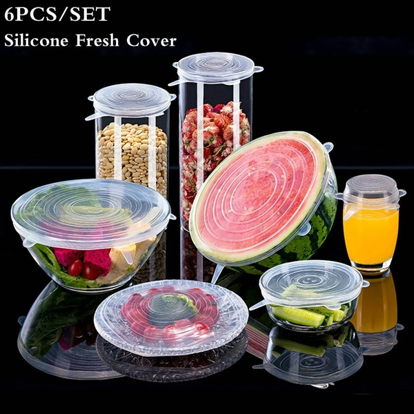 Kitchen & Dining, siliconecover, Silicone, stretchlidscap