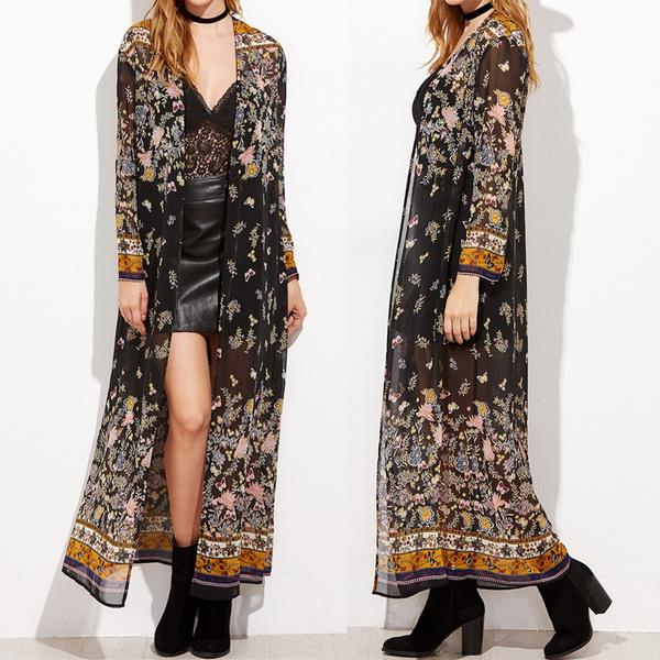 Summer, Plus Size, Coat, Sleeve