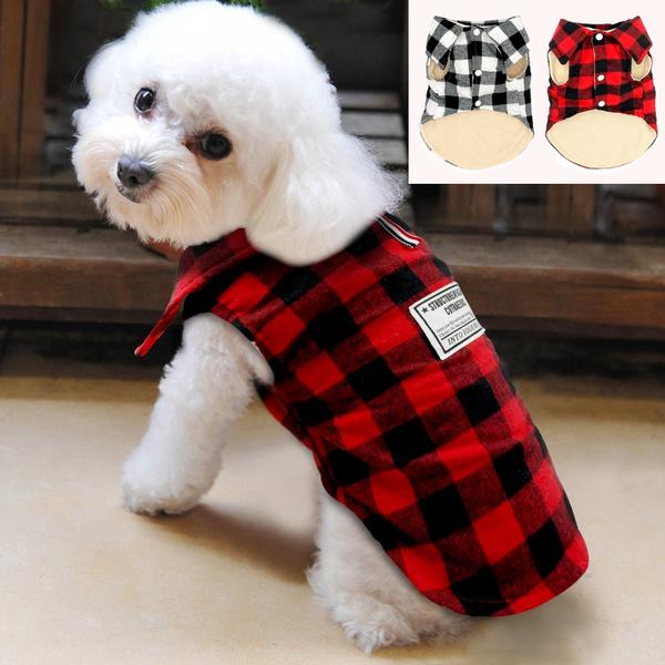 Jacket, dogapparelwashable, plaid, Vest