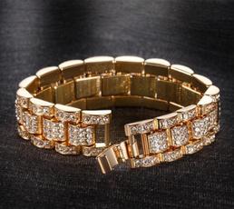 Steel, DIAMOND, gold, Chain