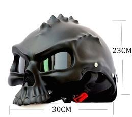 Helmet, Motorcycle, skull, motorcycle helmet