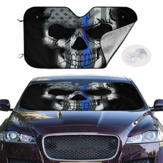 Blues, Shades, reflector, skull