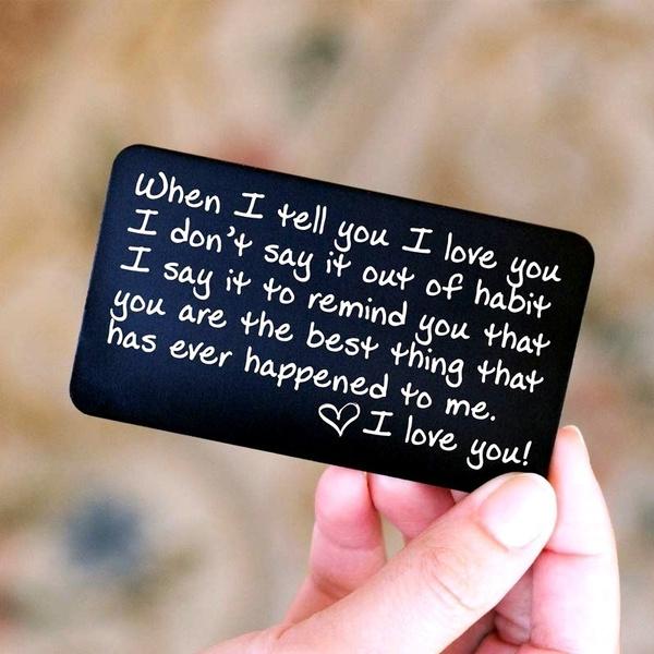 walletinsert, boyfriendgift, Love, couple gift