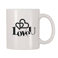 whitemug, Coffee, Love, Gifts