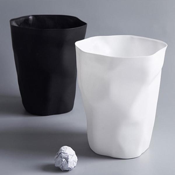 paperbasket, wastebin, garbagecan, dustbin