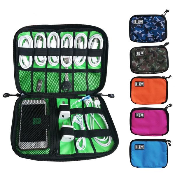 waterproof bag, zipperbag, usbcablestorage, portable