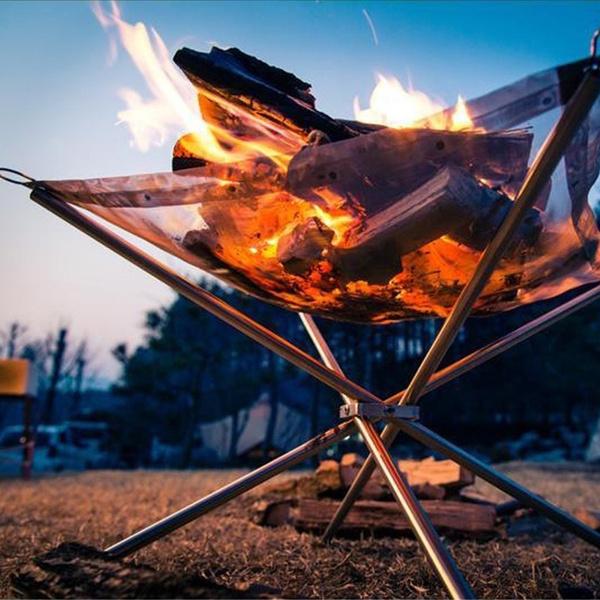 Steel, heater, Outdoor, folding