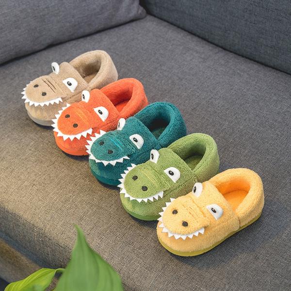 TSAITINTIN Toddler Boys Animal Slippers