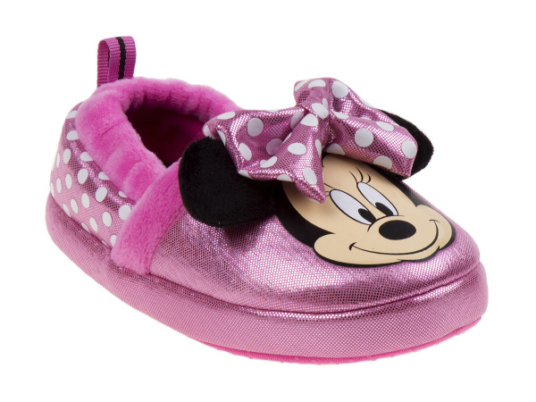 pink, Slippers, josmo, Bow