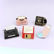 Clothing & Accessories, printerbrooch, Printers, Pins