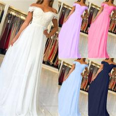 Bridesmaid, bridedre, Lace, boatneck