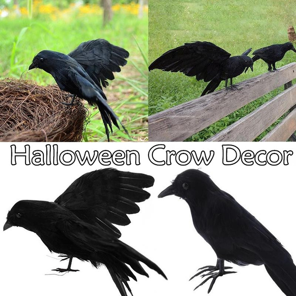 Halloween Decorations, Decor, halloweenprop, blackcrow