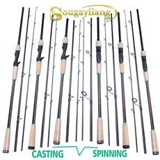 bassfishingrod, Fiber, fishingrod, Travel