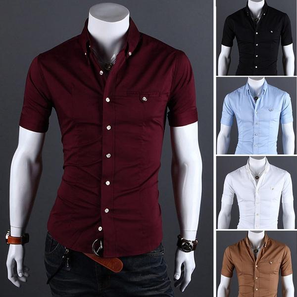 Summer, Cotton, Fashion, Cotton Shirt