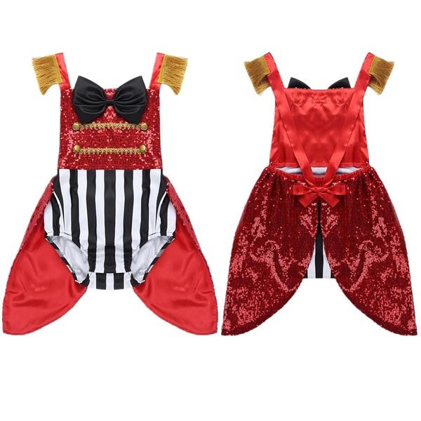 Kaerm Infant Baby Girls Halter Sequins Fish Scale Romper Swim Dress Mermaid Princess Costume