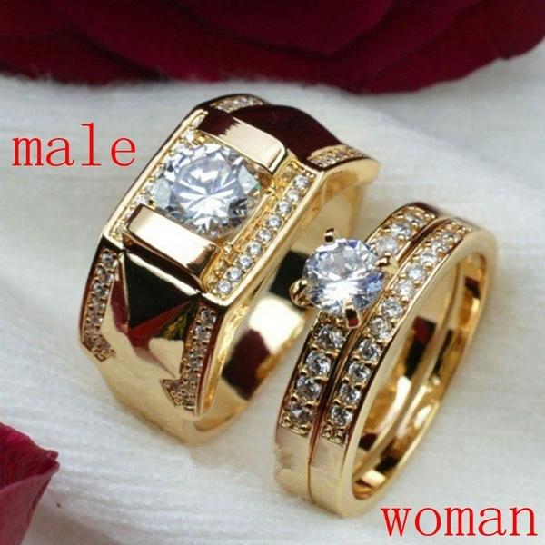 DIAMOND, wedding ring, gold, Diamond Ring
